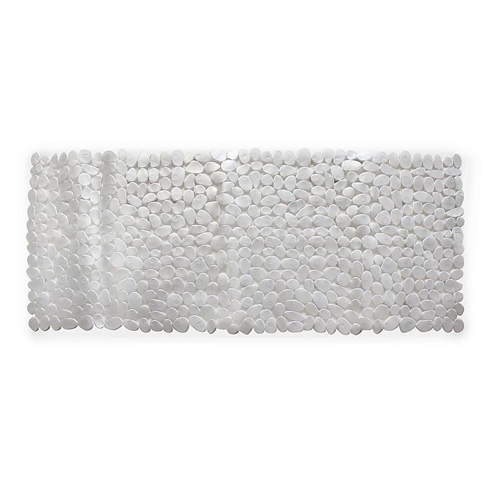 Alternate image 1 for Splash Home Rocks Tub Mat in Grey