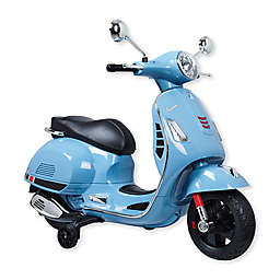 Blazin Wheels Ride-On 12-Volt Battery Operated Super Sport Vespa in Blue