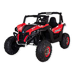 Blazin Wheels Ride-On 12-Volt Battery Operated Wild Cross UTV in Red