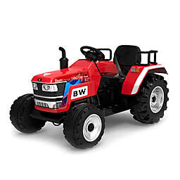 Blazin' Wheels 12V Big Wheel Ride-On Tractor in Red