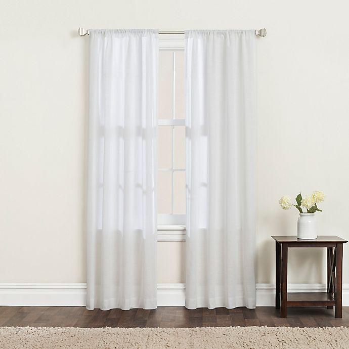 Alternate image 1 for SALT™ Clarke 2-Pack Rod Pocket Window Curtain Panels