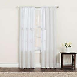 SALT™ Clarke 2-Pack 63-Inch Rod Pocket Window Curtain Panels in White