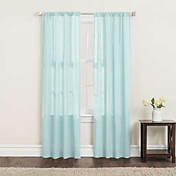 SALT™ Clarke 2-Pack 84-Inch Rod Pocket Window Curtain Panels in Mint