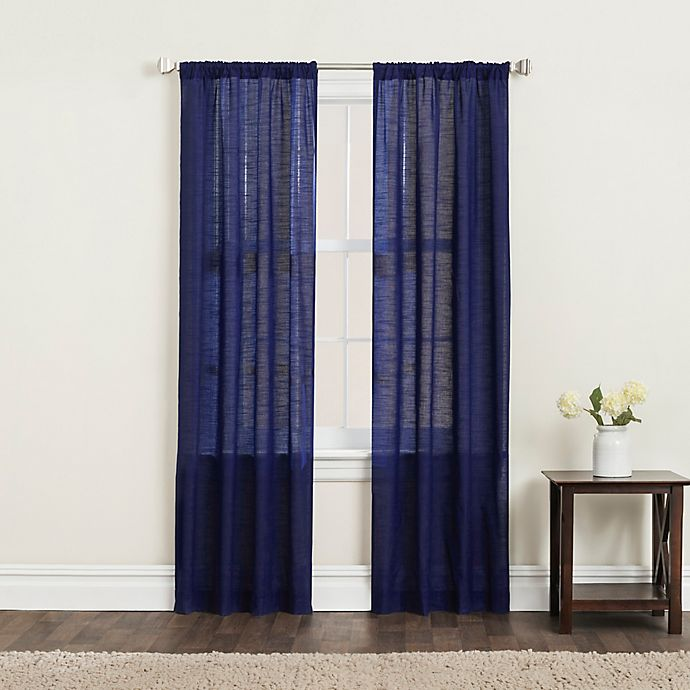 Alternate image 1 for SALT™ Clarke 2-Pack Rod Pocket Window Curtain Panels