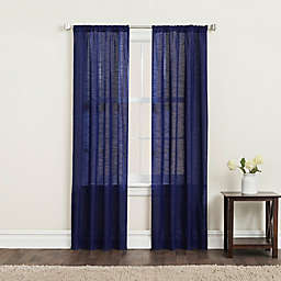 SALT™ Clarke 2-Pack Light Filtering Rod Pocket Window Curtain Panels