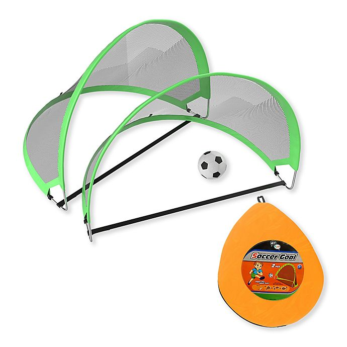 Alternate image 1 for Hey! Play! Pop-Up Soccer Goals Playset