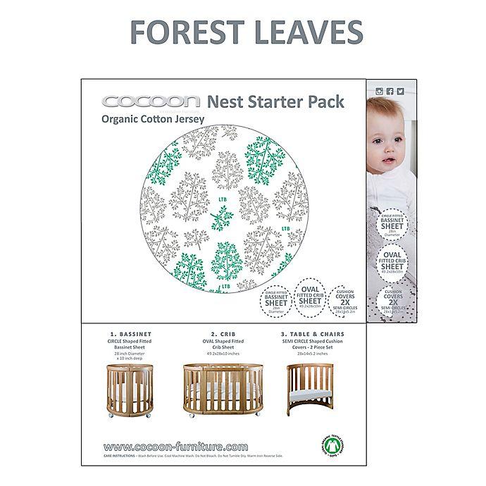 Alternate image 1 for Cocoon Nest Linens Starter Pack in Leaf