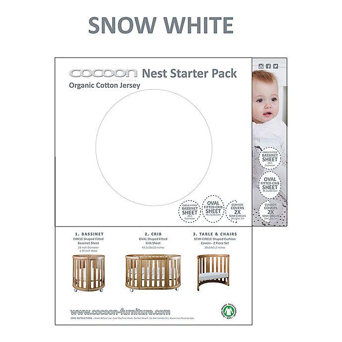 Alternate image 1 for Cocoon Nest Linens Starter Pack in Snow White