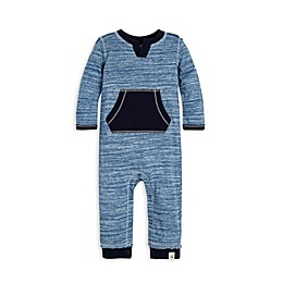 Burt's Bees Baby® Space-Dye Coverall in Navy