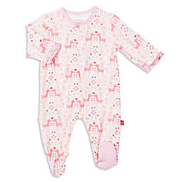 Magnetic Me by Magnificent Baby® Flora Footie in Pink