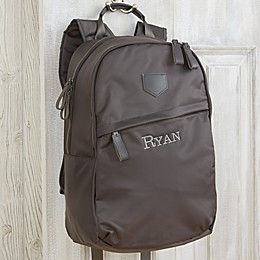 Water Resistant Embroidered Backpack