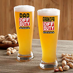 Off Duty Father's Day Barware Collection