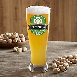 Cup O' Cheer Irish 20oz. Personalized Pilsner
