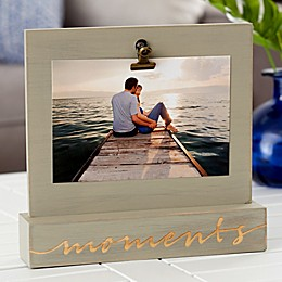 Moments Photo Clip Picture Frame
