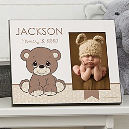 Precious Moments® Personalized 4-Inch x 6-Inch Baby Bear Photo Frame
