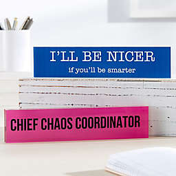Office Expressions Personalized Acrylic Name Plate
