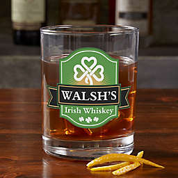 Cup O' Cheer Irish Personalized 14 oz. Whiskey Glass