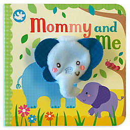 """Mommy and Me"" Finger Puppet Board Book by Sara Ward"