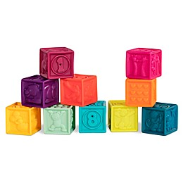 B. 10-Piece One Two Squeeze Soft Blocks
