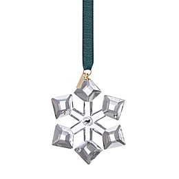 kate spade new york First Snow Snowflake Christmas Ornament in Clear Glass