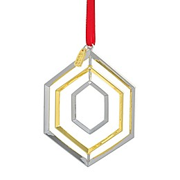 Nambe 2019 Annual Ornament in Silver/Gold
