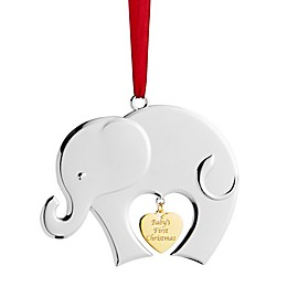 Nambe Baby's First Christmas 2019 Ornament