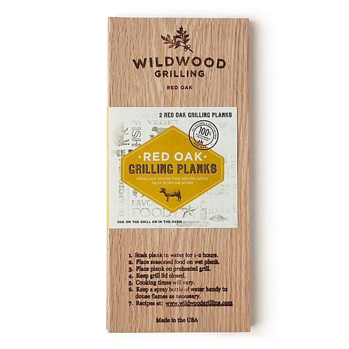 Alternate image 1 for Wildwood Grilling Grill Planks (Set of 2)