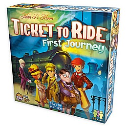 Ticket to Ride: First Journey Strategy Board Game
