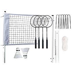 Franklin Sports Professional Badminton Set in White/Black