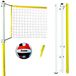 Franklin Sports Family Volleyball Set in White/Yellow
