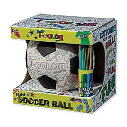 Franklin® Sports I-Color Mini Soccer Ball in Black/White