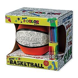 Franklin® Sports I-Color Mini Basketball in Orange