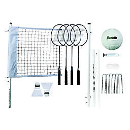 Franklin® Sports Professional Volleyball and Badminton Set