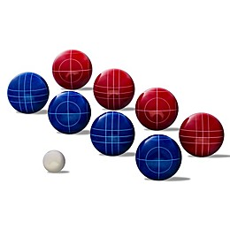 Franklin® Sports 90mm Bocce Ball Set in Red/White/Blue