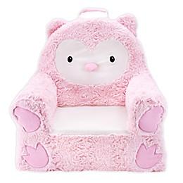 Soft Landing™ Premium Sweet Seats™ Owl Chair in Pink