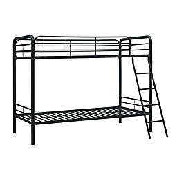 Everyroom Eeva Twin Over Twin Metal Bunk Bed