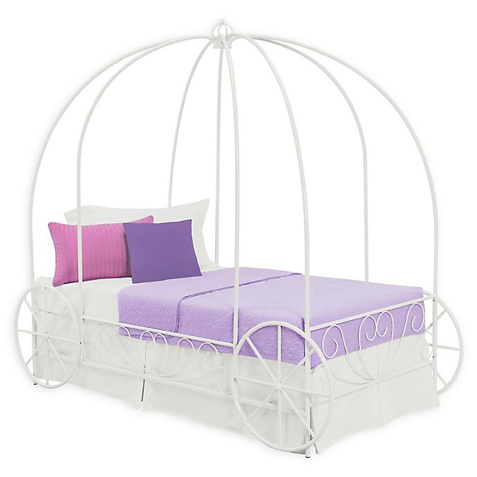 Alternate image 1 for Atwater Living Aurora Twin Metal Carriage Bed