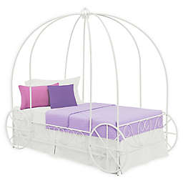 Atwater Living Aurora Twin Metal Carriage Bed