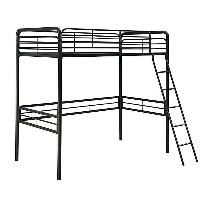 Alternate image 1 for Atwater Living Tiana Twin Metal Loft Bed