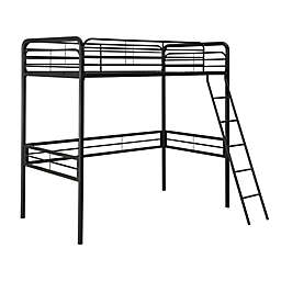 Atwater Living Tiana Twin Metal Loft Bed