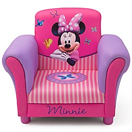 Delta Children Minnie Mouse Kids Upholstered Chair