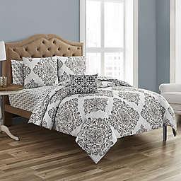 Zaria 12-Piece Reversible Comforter Set