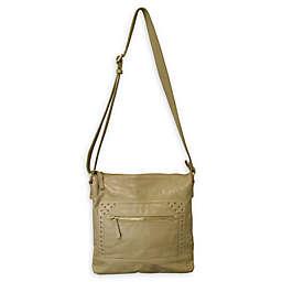 Amerileather Simply Messenger/Shoulder Bag in Tan