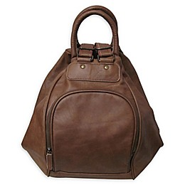 Amerileather Bumble Bee Backpack in Brown