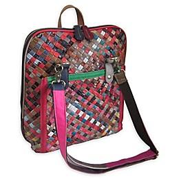 Amerileather Ellen Shoulder/Backpack in Rainbow