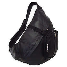 Amerileather APC Leather Cross Body Sling Bag