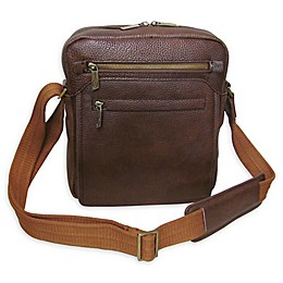 Amerileather Front Flap Messenger Bag