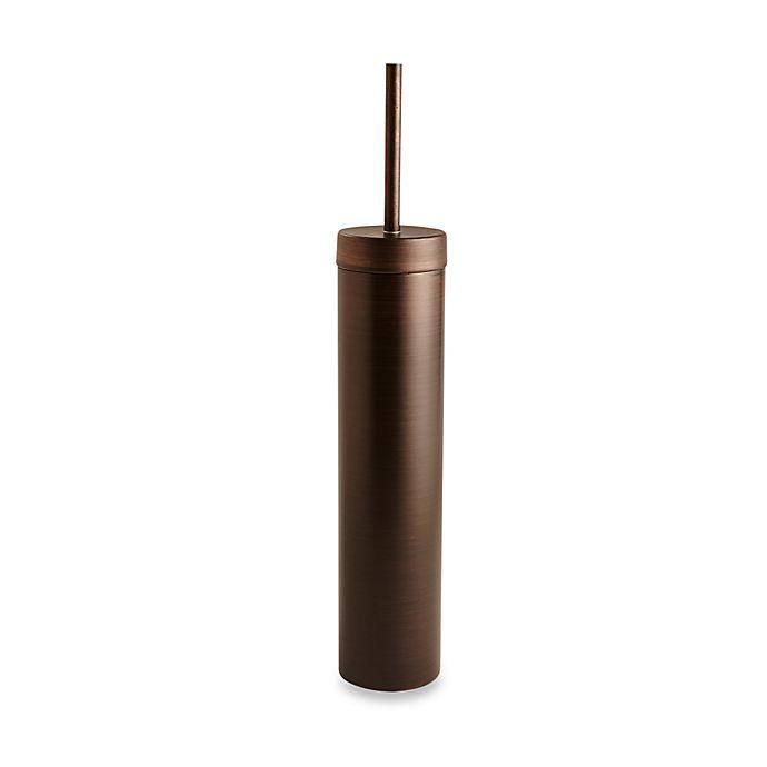 Alternate image 1 for Oggi™ Slim and Trim Toilet Brush in Oil-Rubbed Bronze