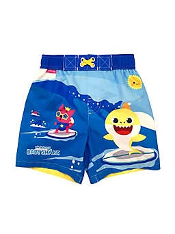 Baby Shark Swim Trunks in Blue