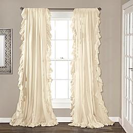 Reyna Rod Pocket Window Curtain Panel Pair
